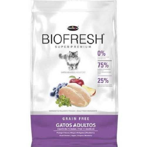 Ração Hercosul Biofresh para Gatos Adultos 7,5kg