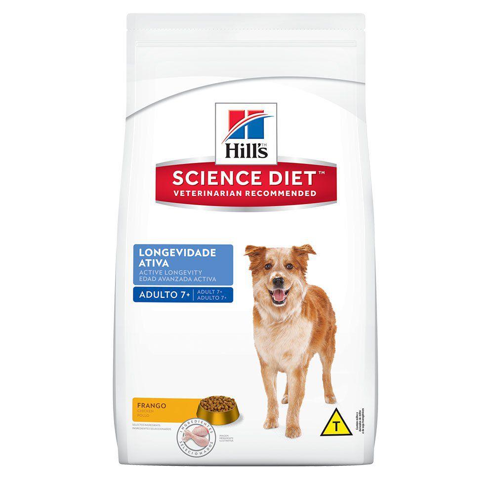 Ração Hills Cães Adultos Longevidade Ativa - 7,5 KG