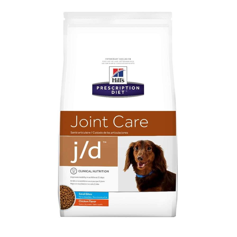 Ração Hills J/D Cuidados Articulares para Cães Pedaços Pequenos - 3,8 KG