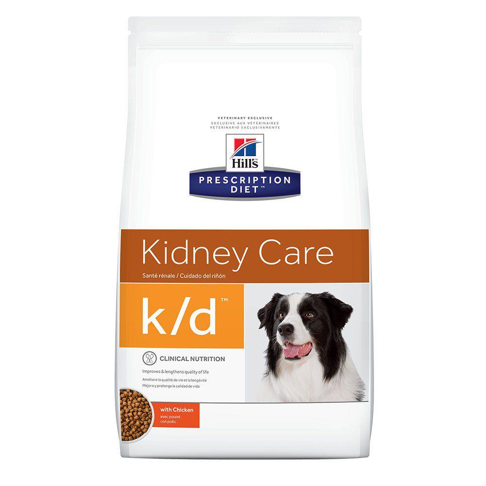 Ração Hills K/D Problemas Renais para Cães - 3,8 KG