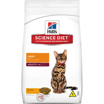 Racao Hills Feline Adulto Light 3KG