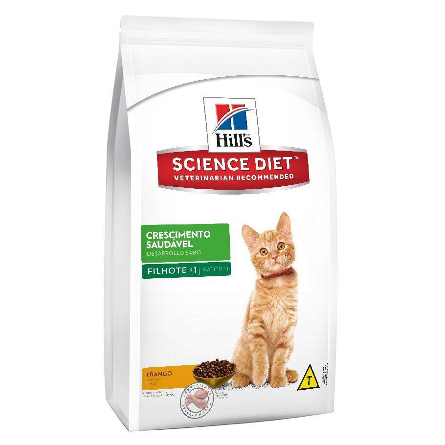 Ração Hills Science Diet Feline Filhote Crescimento Saudável 1,5kg