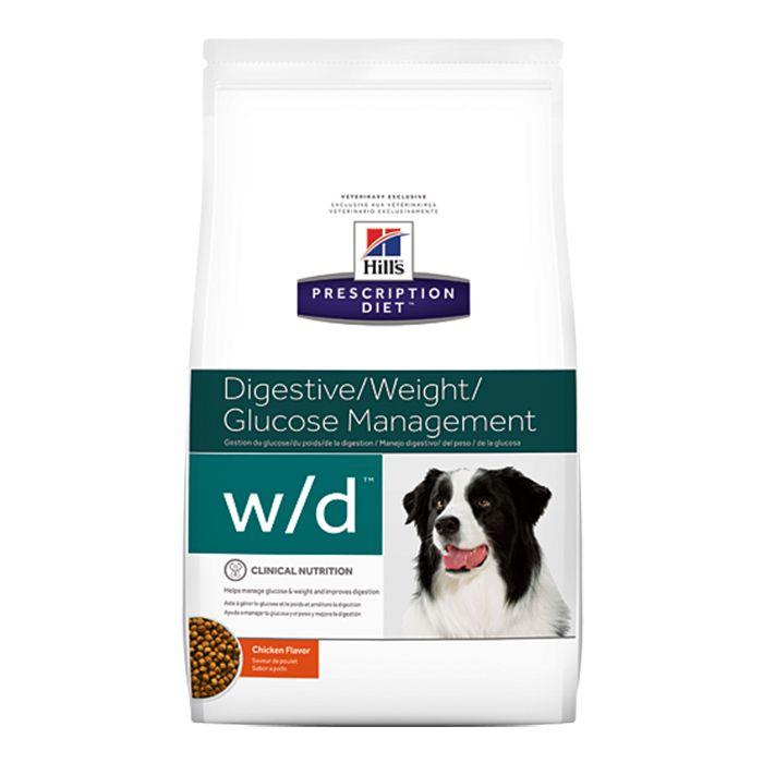 Ração Hills W/D Controle de Peso e Glicêmico para Cães - 3,8 KG