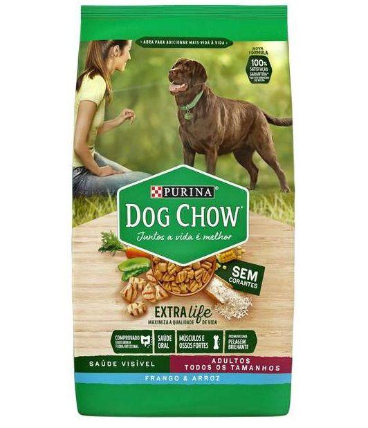 Ração Nestlé Purina Dog Chow  Cães Adultos Todos Tamanhos Frango E Arroz 15kg