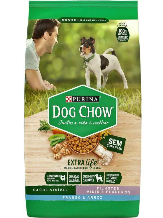 Ração Nestlé Purina Dog Chow  Cães Filhotes Raças Pequenas Frango E Arroz 15kg