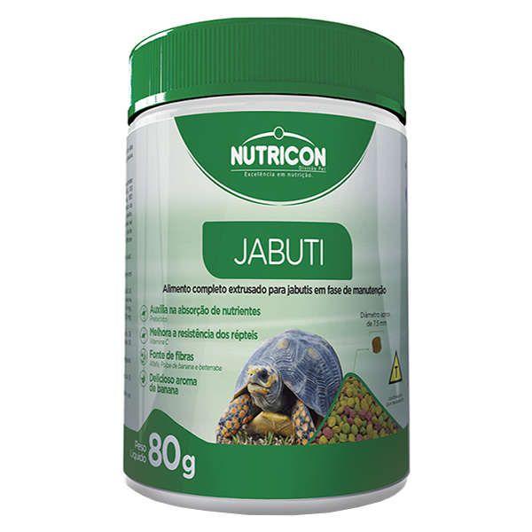 Ração Nutricon Jabuti - 80 G