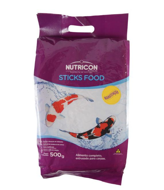RACAO NUTRICON STICKS FOOD MANUTENCAO 500G