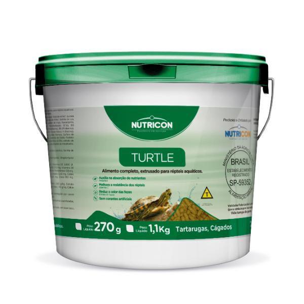 RACAO NUTRICON TURTLE 1,1KG