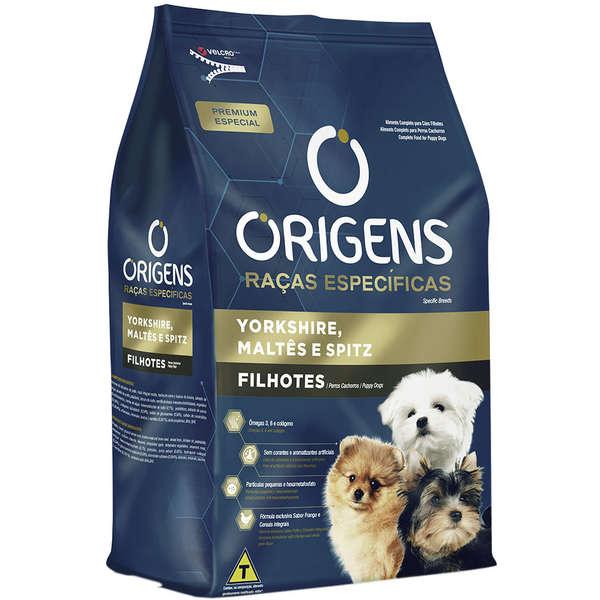 Ração Origens Cães Adultos York-Maltes-Spitz 1kg