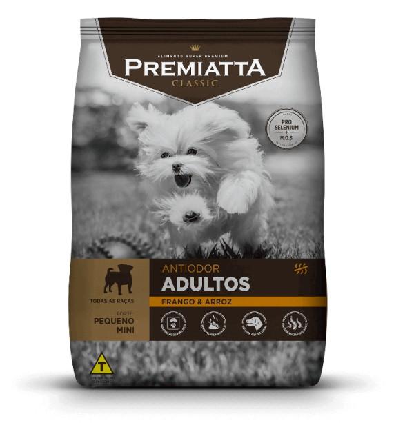 Ração Premiatta Classic Anti Odor Frango Cães Adulto Raça Mini e Pequena 2kg