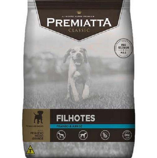 Ração Premiatta Classic Cães Filhotes Raças Pequenas, Médias e Grandes 15kg