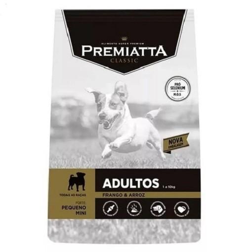 Ração Premiatta Classic Frango e Arroz Cães Adultos Raça Mini e Pequena 7,5kg