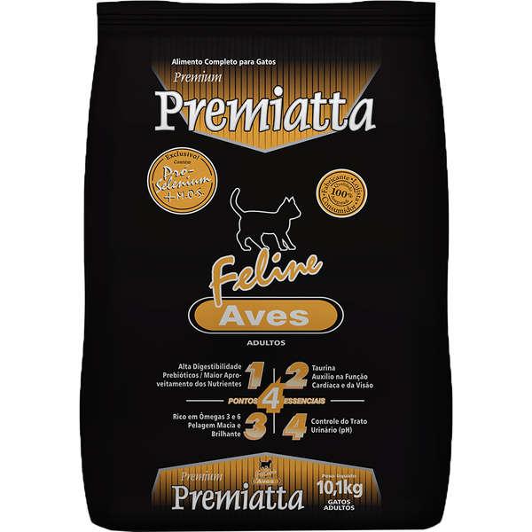 Ração Premiatta Feline sabor Aves 10,1Kg