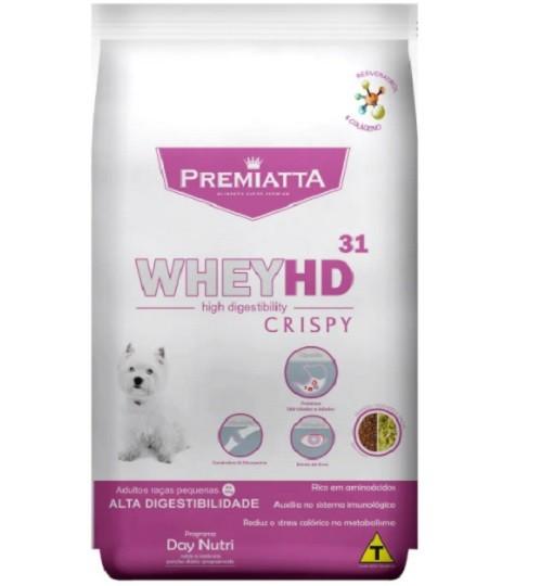 Ração Premiatta HD Alta Digestibilidade Crispy Cães Raças Pequenas 6kg