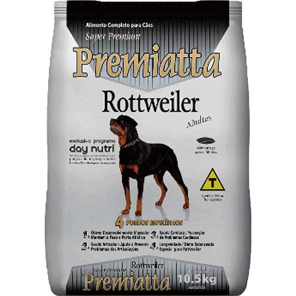 Ração Premiatta Rottweiler Adulto 10,5kg