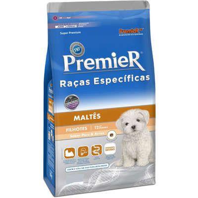 Ração Premier Raças Específicas Cães Maltês Filhotes - 1 KG