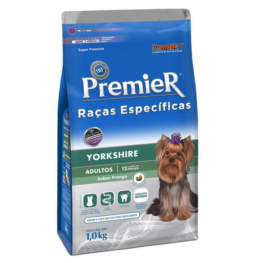 Ração Premier Raças Específicas Yorkshire Adulto - 1 KG