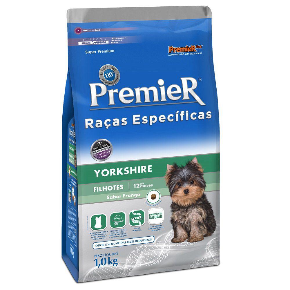 Ração Premier Raças Específicas Yorkshire Filhote - 1 KG