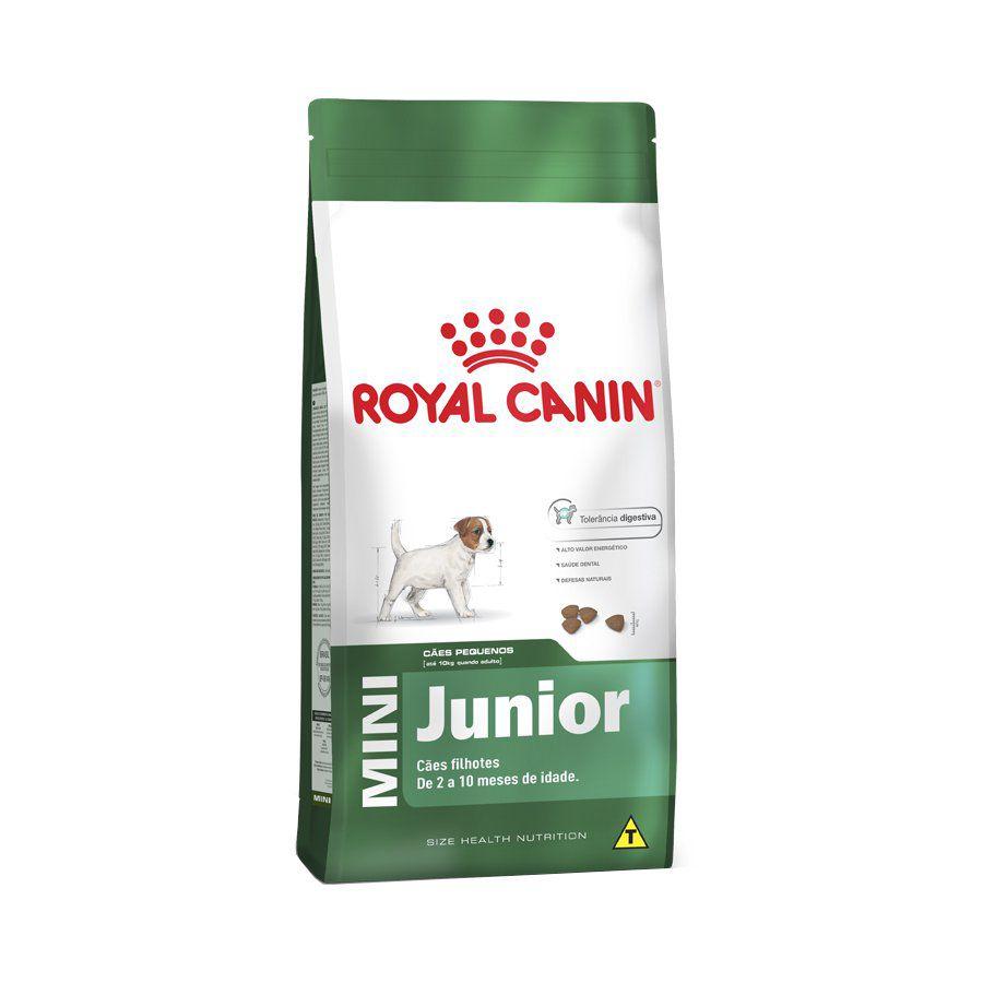 Ração Royal Canin Cães Mini Júnior - 1 KG