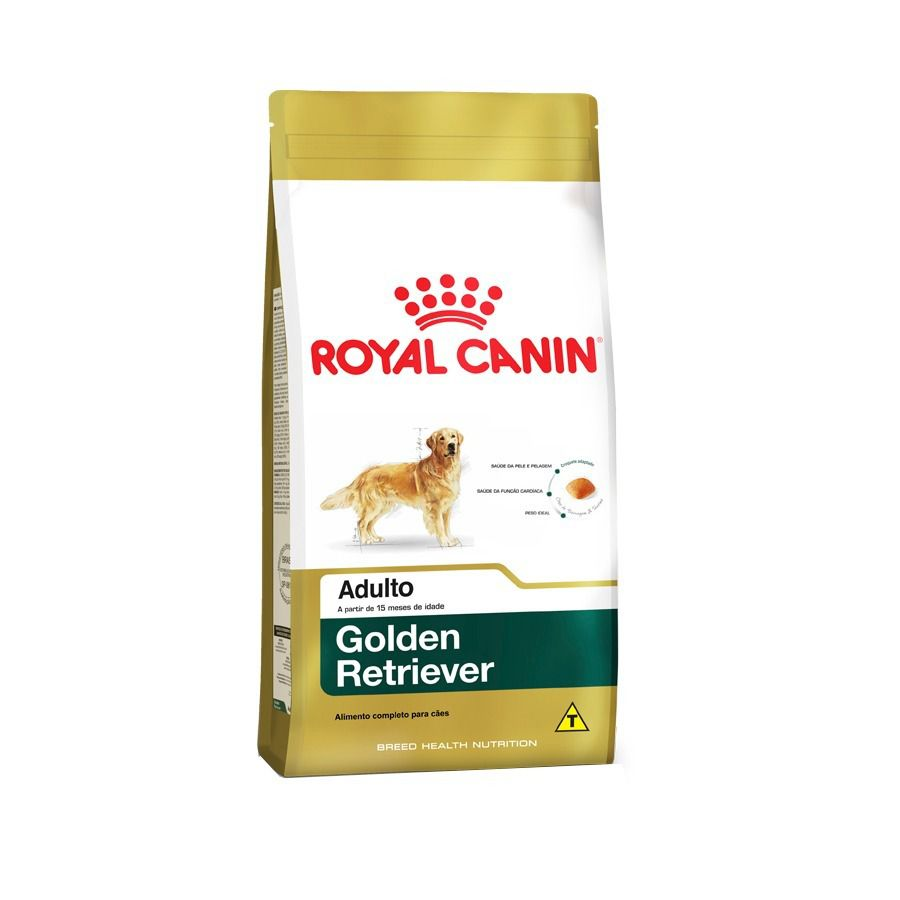 Ração Royal Canin Golden Retriever Adulto 12kg