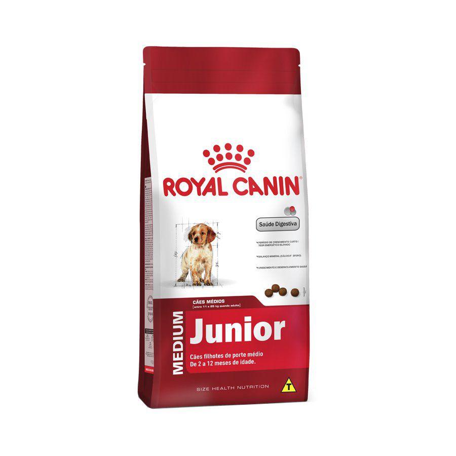 Ração Royal Canin Medium Cães Filhotes - 15 KG