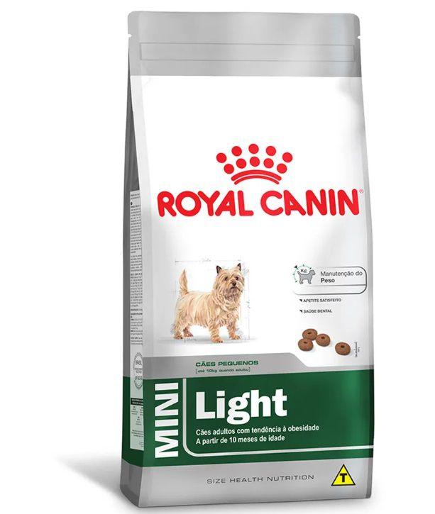Racao Royal Canin Mini Light 2,5 Kg