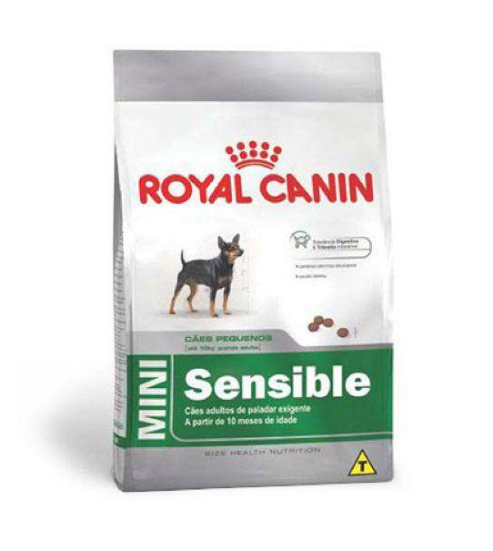 Racao Royal Canin Mini Sensible 2,5 Kg