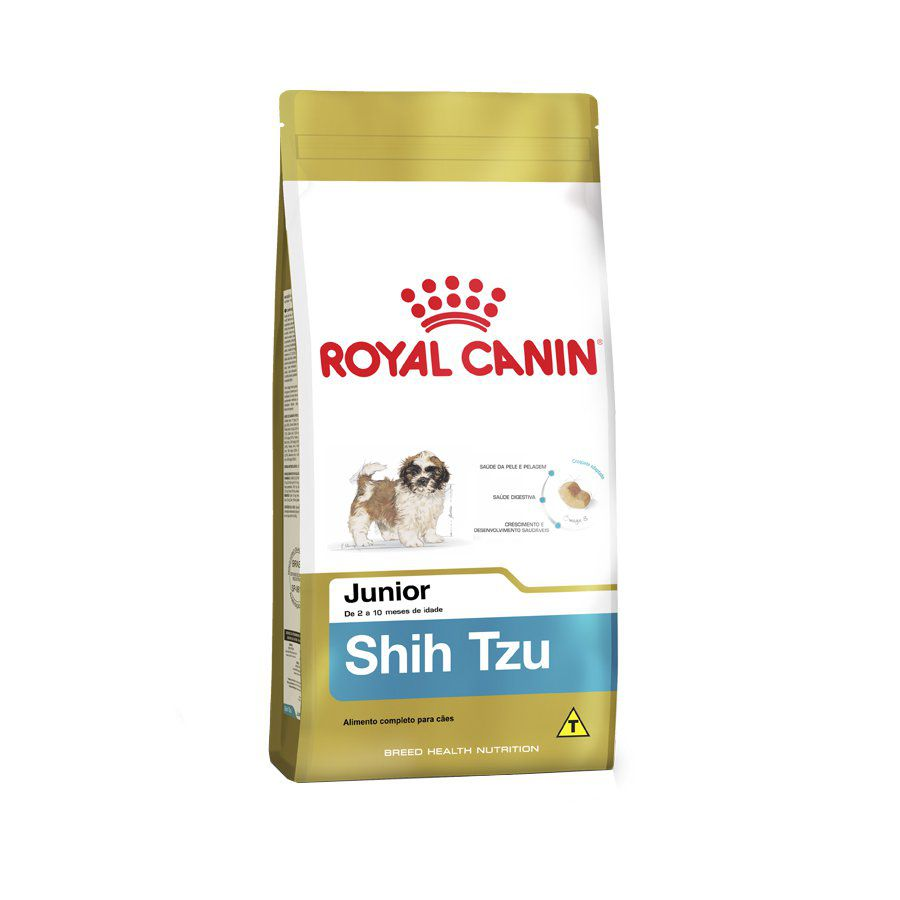 Ração Royal Canin Raças Específicas Shih Tzu Filhote - 1 KG