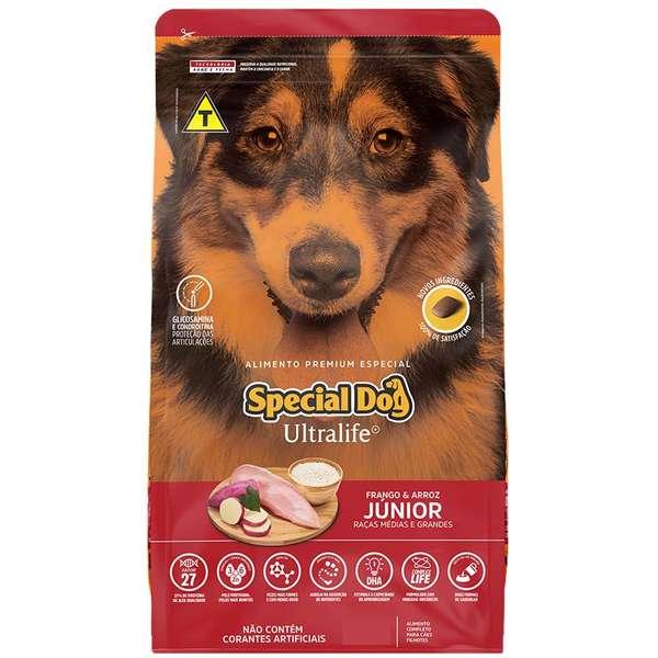 Ração Special Dog Ultralife Cães Filhotes Raças Medias 3kg