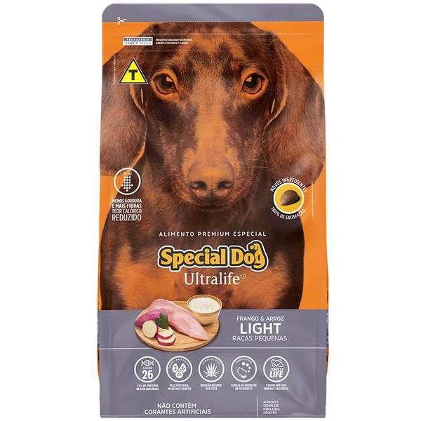 Ração Special Dog Ultralife Light Cães Raças Pequenas 1kg