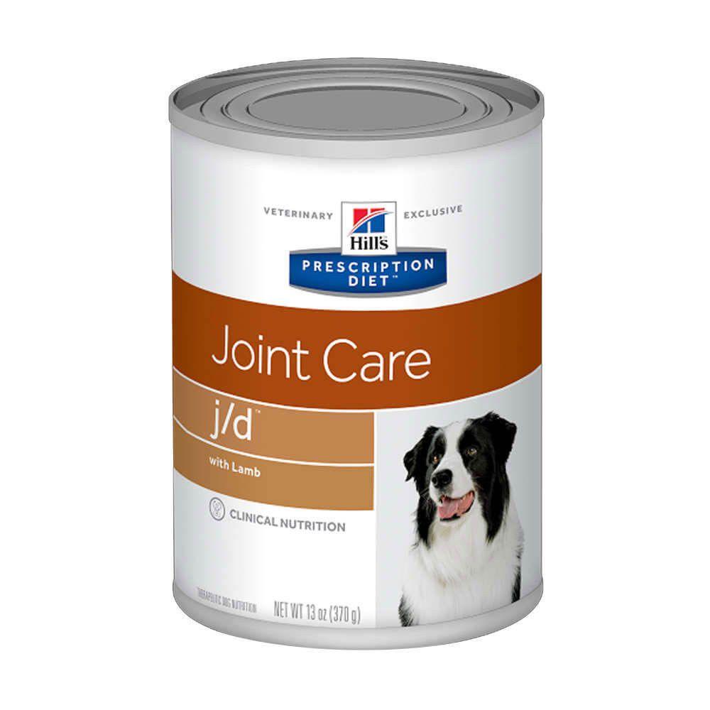 Ração Úmida Hills J/D Cuidados Articulares para Cães Lata - 370g