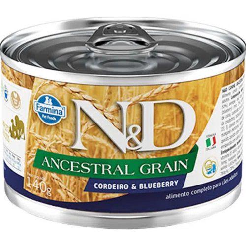 Ração Úmida N&D Ancestral Cães Adultos Sabor Cordeiro 140g