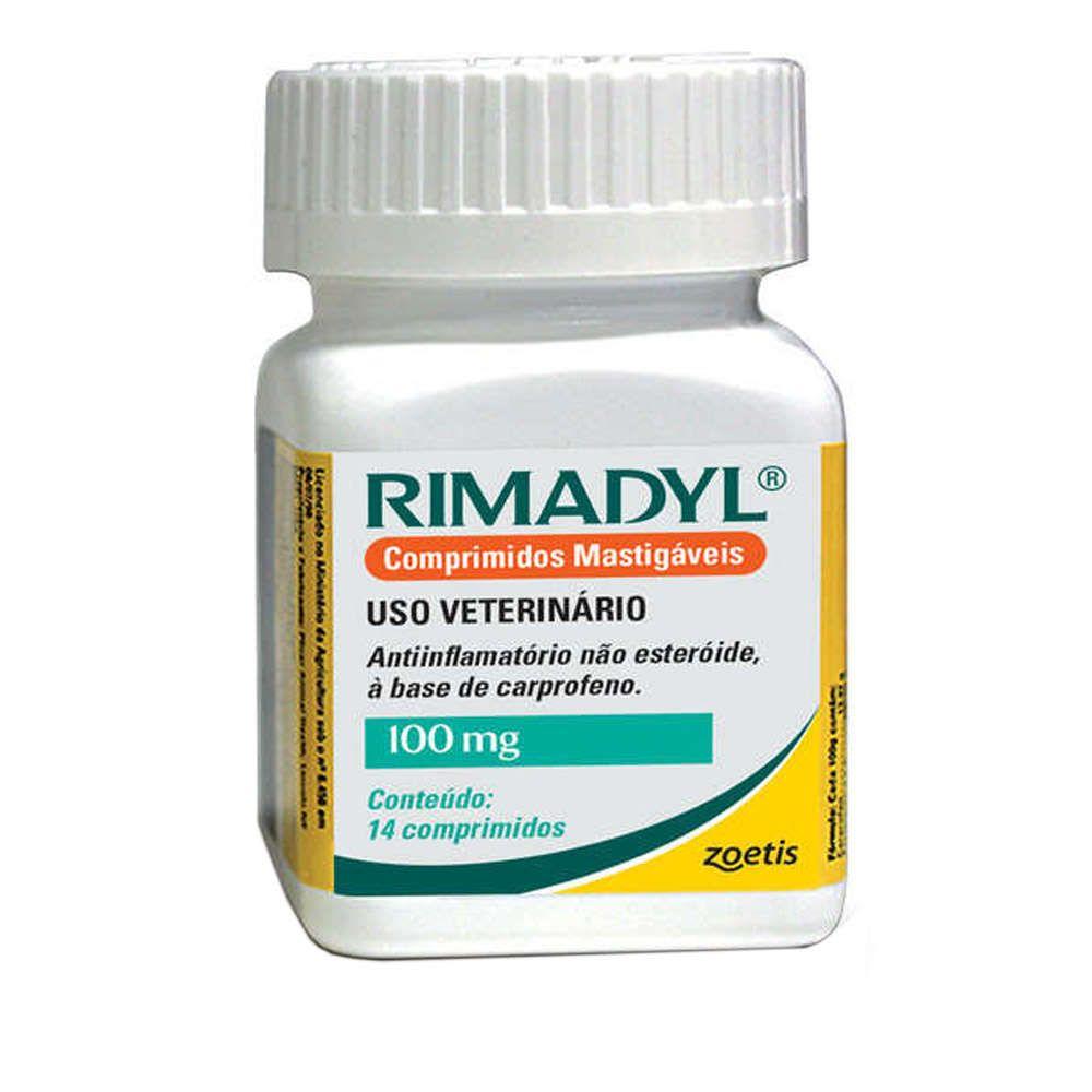 Anti-inflamatório Zoetis Rimadyl de 14 Comprimidos - 100 mg