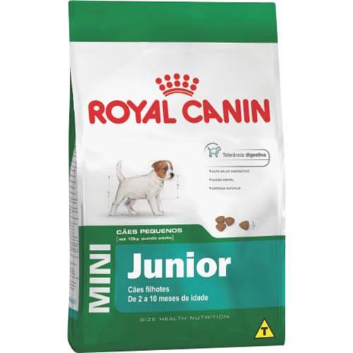 Ração Royal Canin Cães Mini Júnior - 2,5KG
