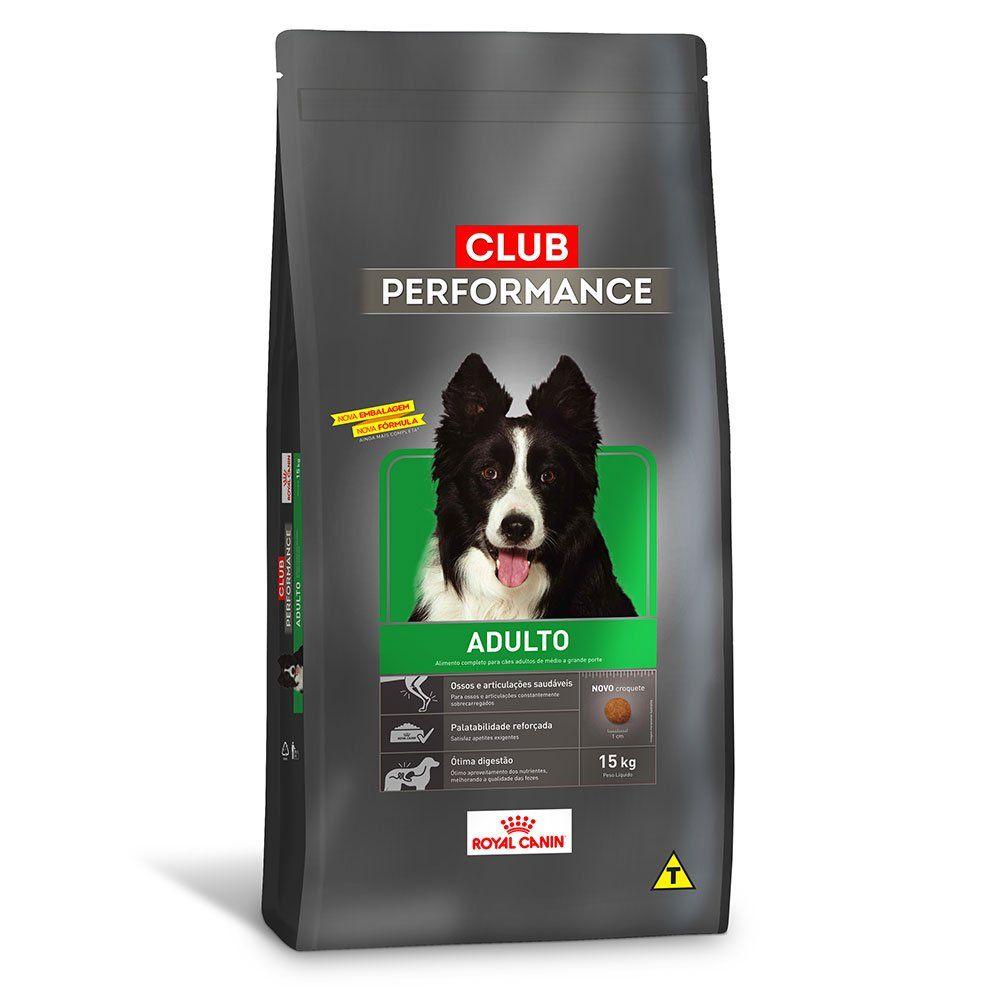 Ração Royal Canin Cães Adultos Club Performance - 15 KG