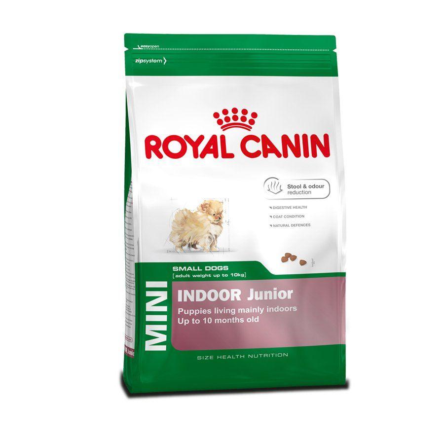 Ração Royal Canin Cães Mini Indoor Júnior - 1 KG