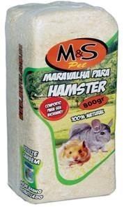 Serragem Maravalha para Hamster Solta-800gr