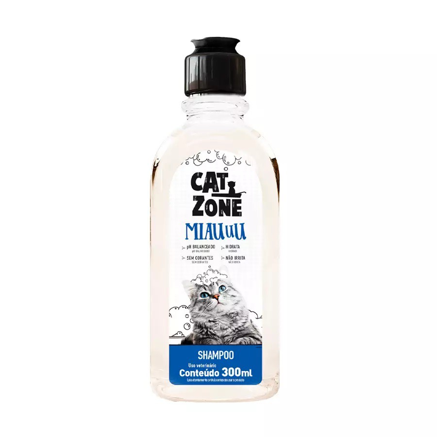 Shampoo Cat Zone Miauuu para Gatos 300ml