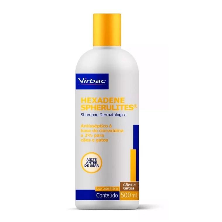Shampoo Dermatológico Hexadene Spherulites Cães e Gatos - 500 mL