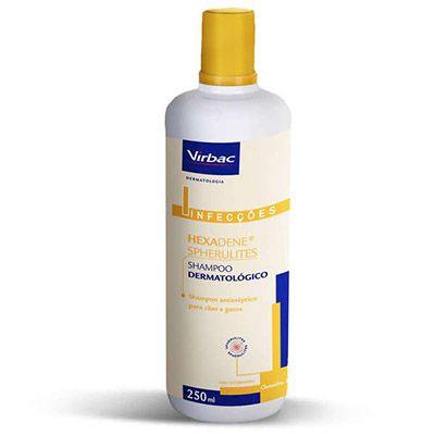 Shampoo Dermatológico Hexadene Spherulites Cães e Gatos - 250 mL