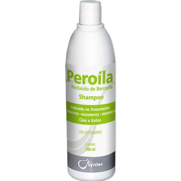 Shampoo Dermatológico Syntec Peroíla Cães e Gatos 500ml
