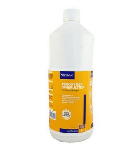 Shampoo Dermatólogico Virbac Peroxydex Spherulites 1 litro