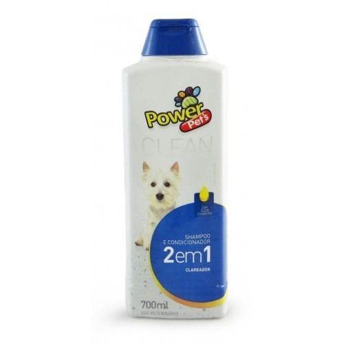 Shampoo e Condicionador Power Pets Clareador - 700ML