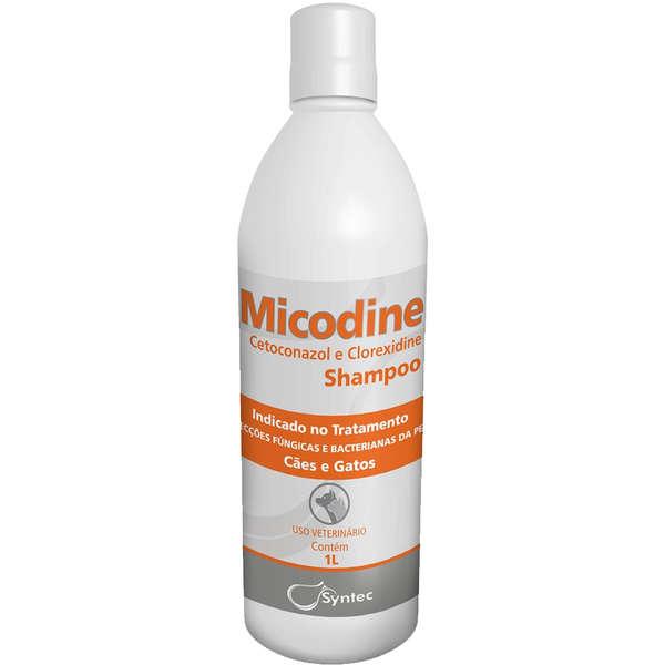 Shampoo Micodine Syntec - 1Litro