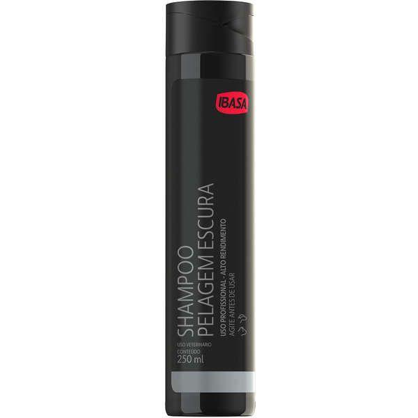 Shampoo Pelagem Escura Ibasa 250ml Diluicao 1:4
