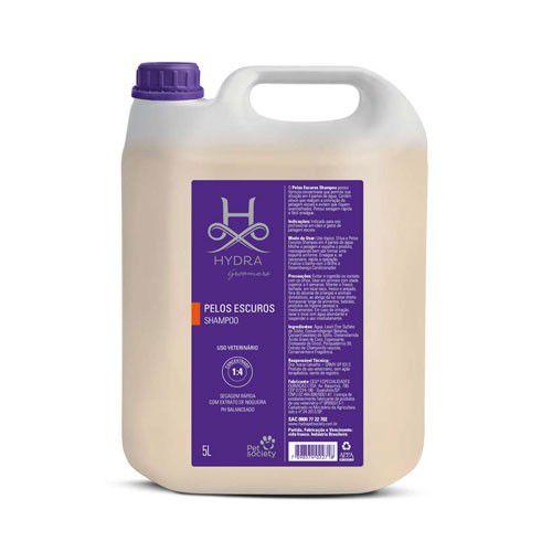 Shampoo Pelos Escuros Hydra Pet Society 5l