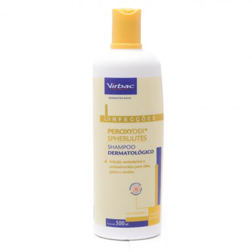 Shampoo Dermatólogico Virbac Peroxydex Spherulites 500ml