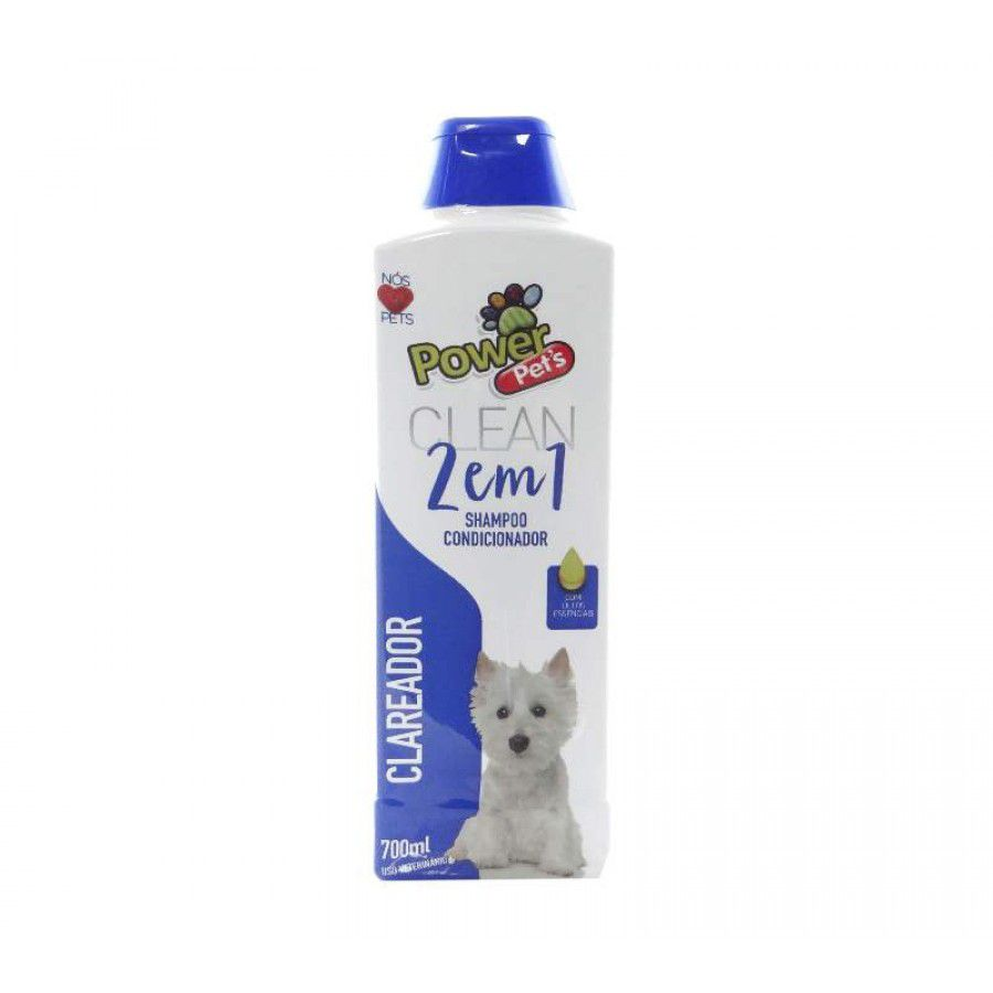 SHAMPOO POWERPETS CLAREADOR 700ML