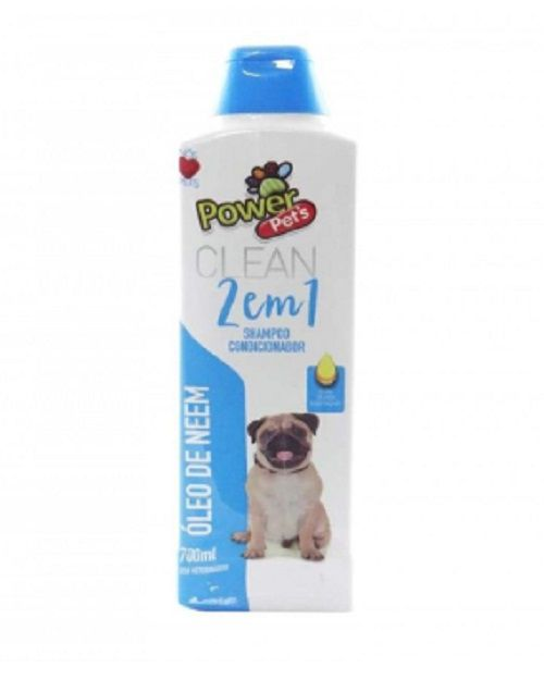 SHAMPOO POWERPETS EXTRATOS NATURAIS 700ML