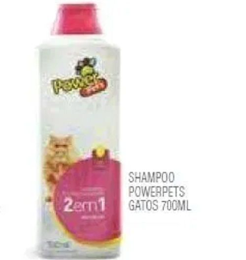 SHAMPOO POWERPETS GATOS  700ML
